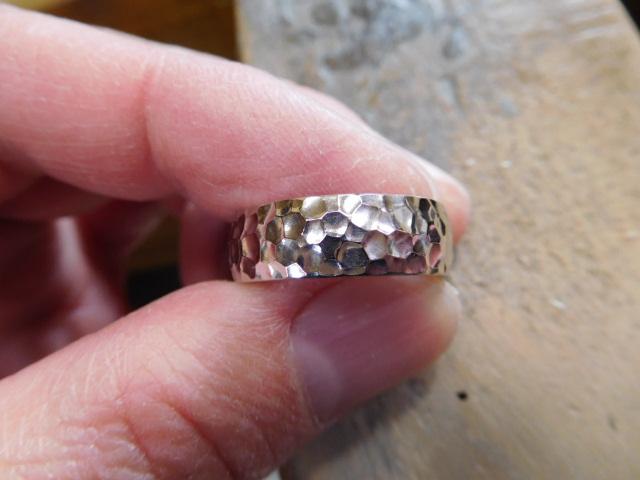 槌目の指輪