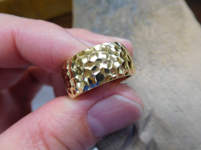 レディース 金 指輪 太い
