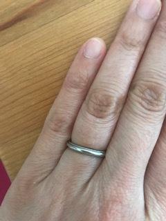 ストレート 結婚指輪