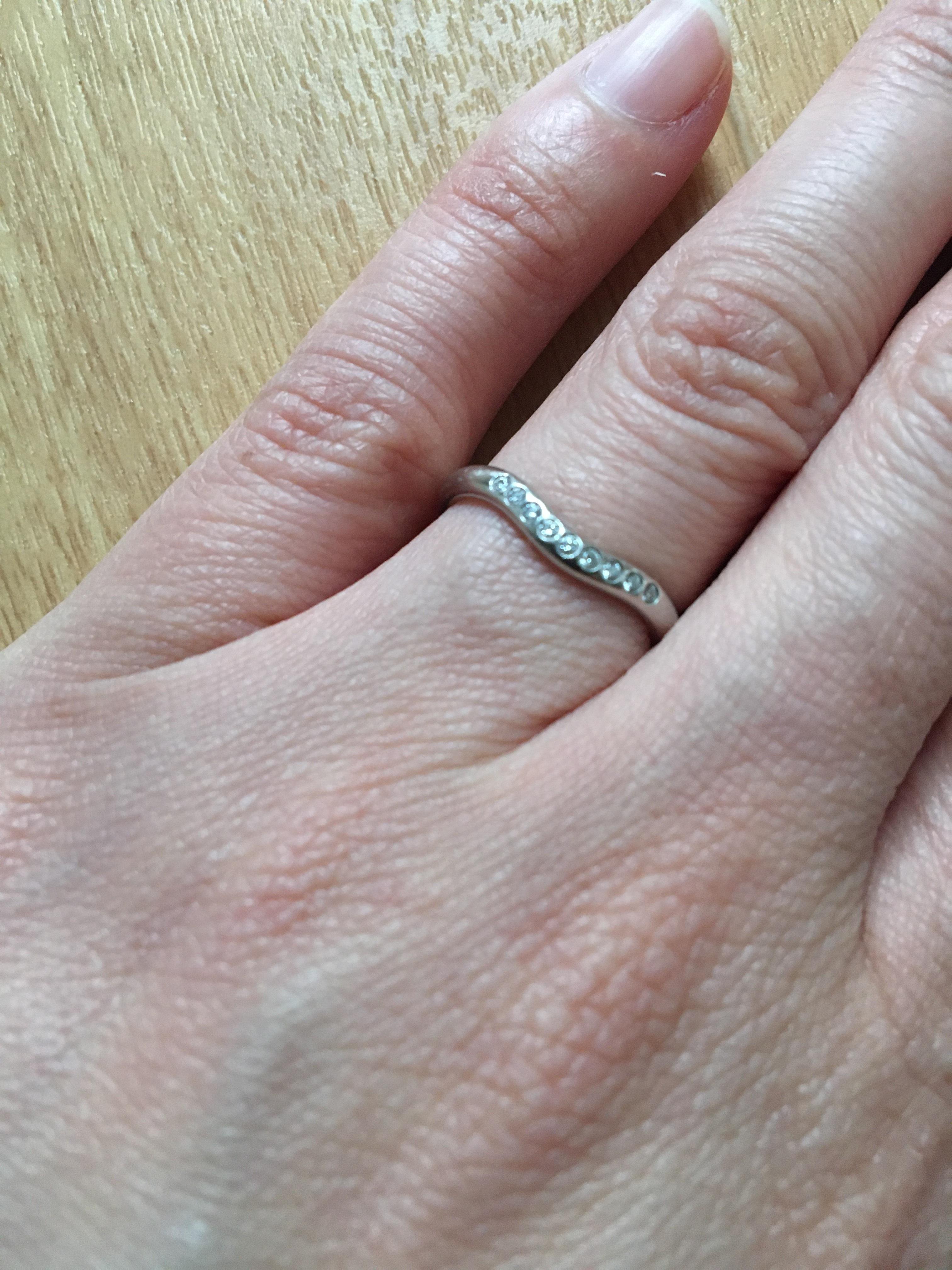 結婚指輪 Tiffany