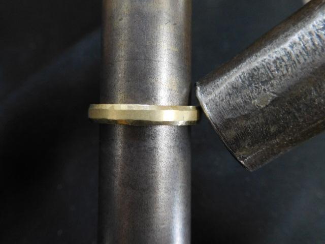 指輪 ゴールド 鍛造