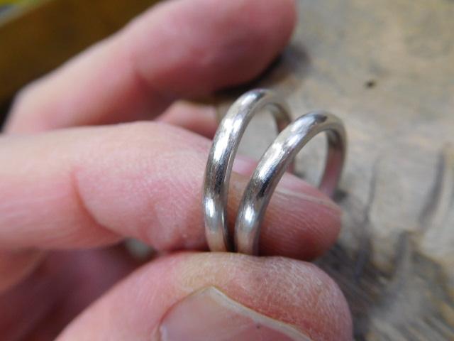 結婚指輪 プラチナ シンプル