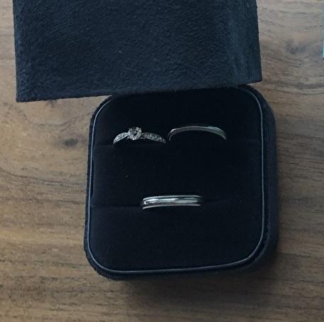 婚約指輪とマリッジリング セット