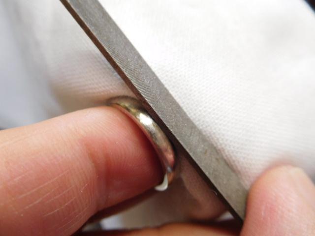 純プラチナ 指輪