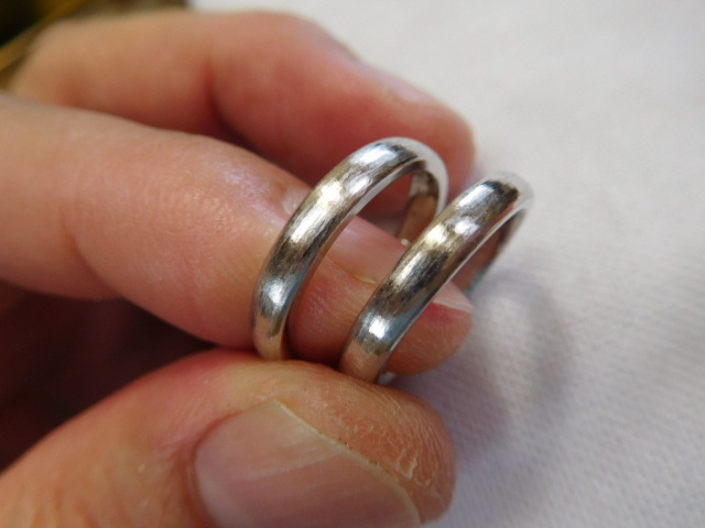 結婚指輪 純プラチナ