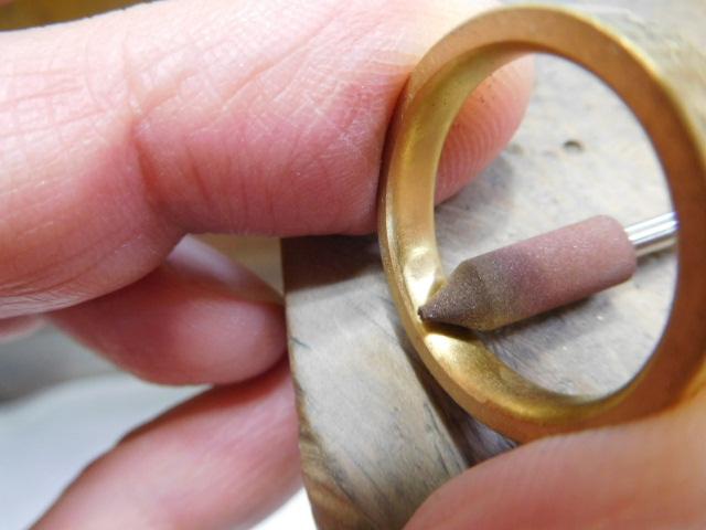 24金 指輪 手作り