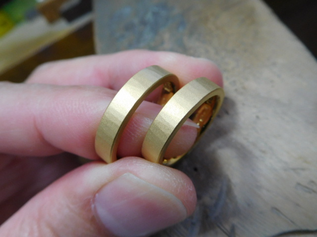 結婚指輪 24金