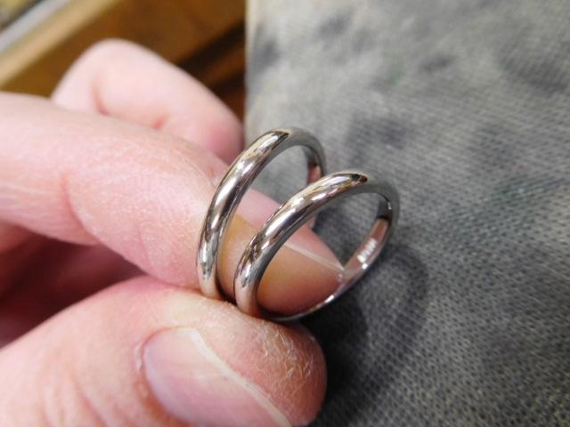 結婚指輪 プラチナ1000