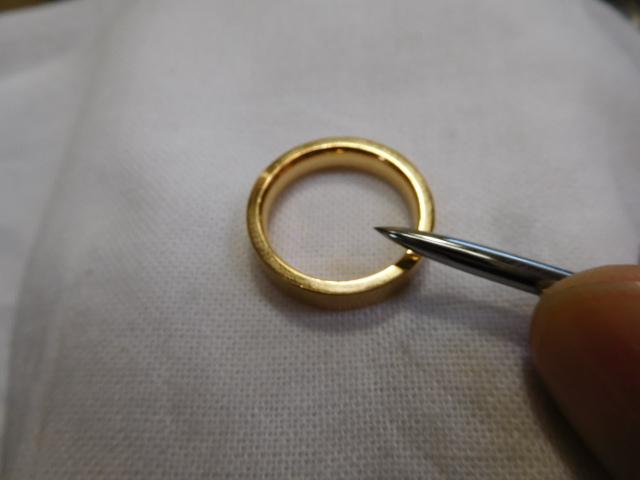 鍛造 金 指輪