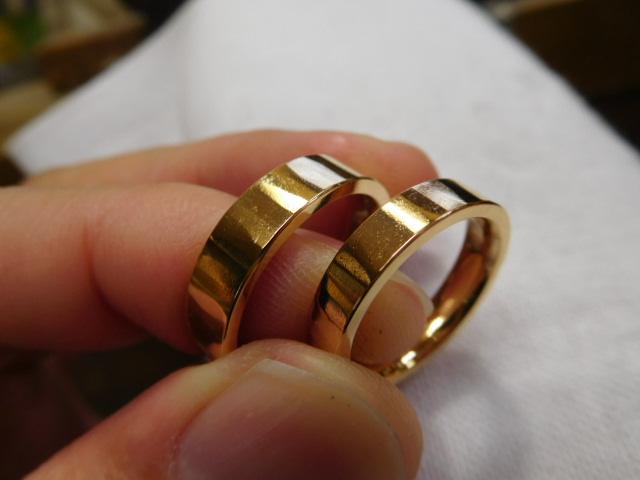 ゴールド 鍛造 結婚指輪