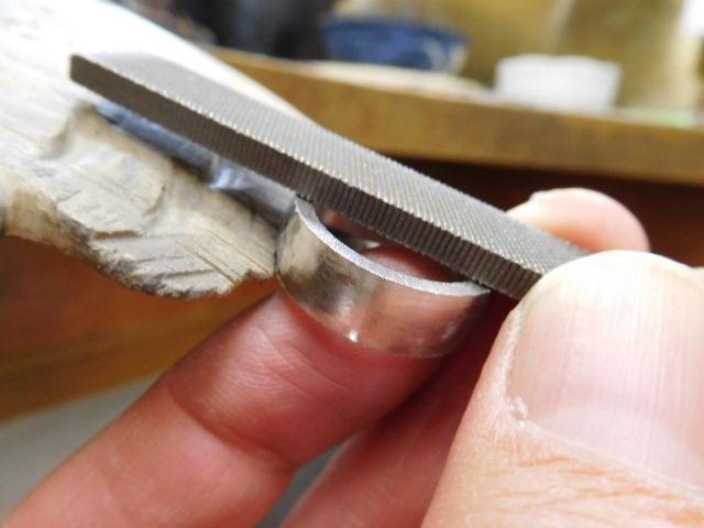 指輪 プラチナ 鍛造