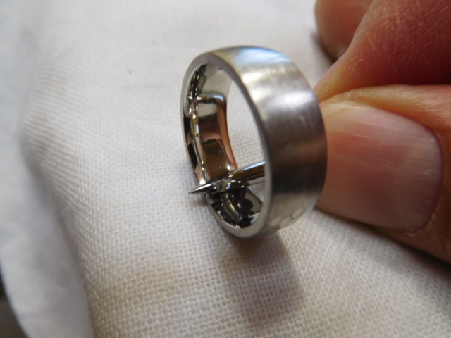 指輪 鍛造