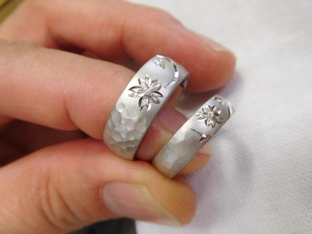 結婚指輪 和風