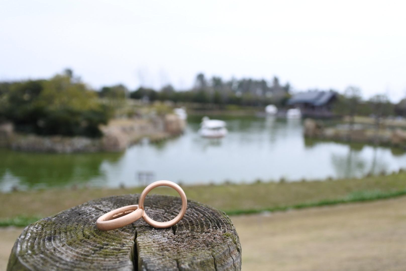 結婚指輪 個性的