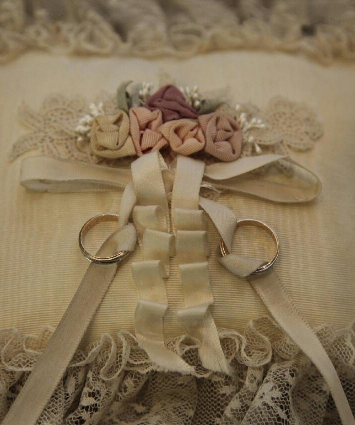 結婚指輪 リングピロー