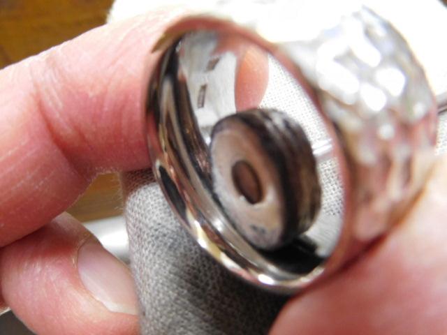 指輪 幅広い