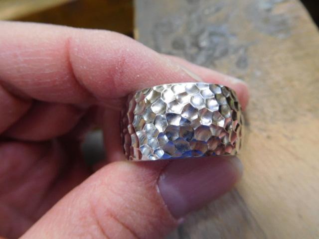 鍛造 指輪