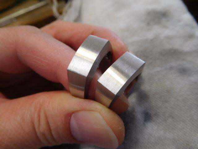 結婚指輪 印台リング