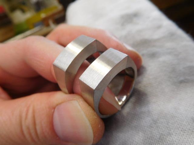 結婚指輪 印台