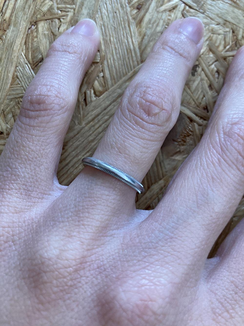 ミルグレイン 結婚指輪