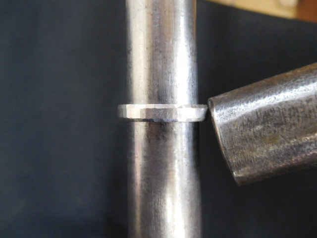 鍛造 指輪 プラチナ