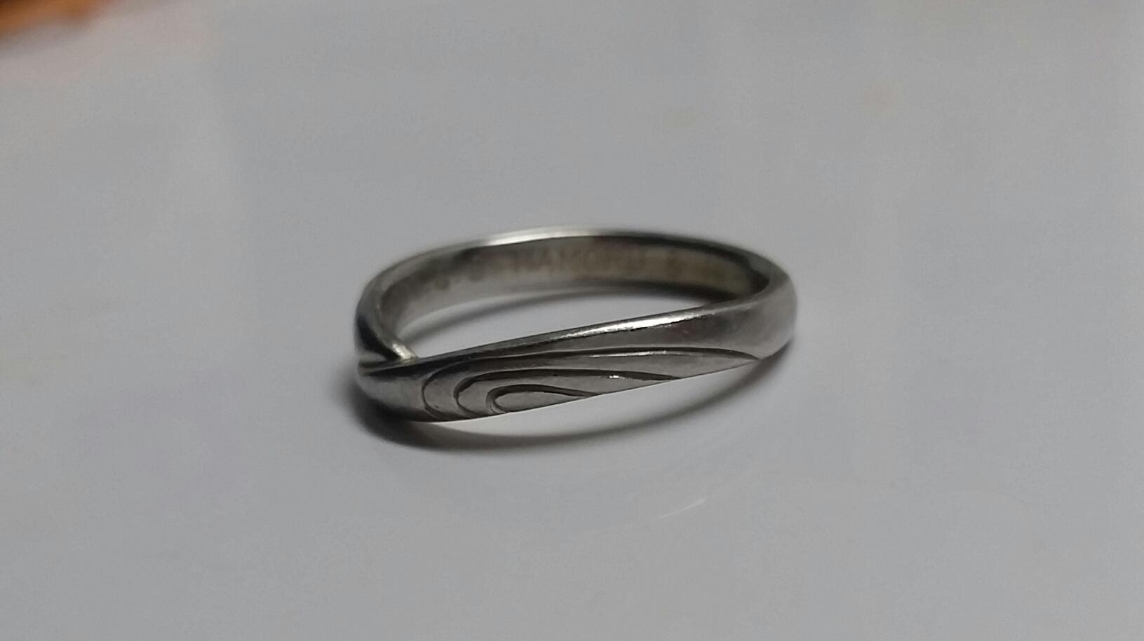 ハート 結婚指輪