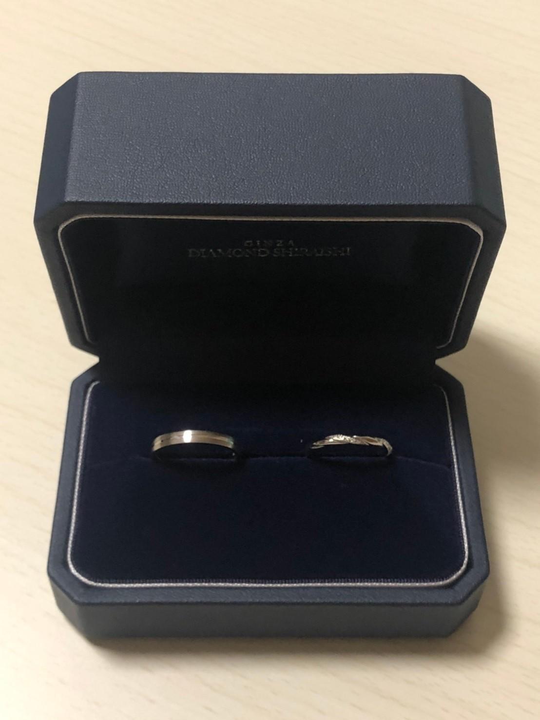 結婚指輪 ねじり