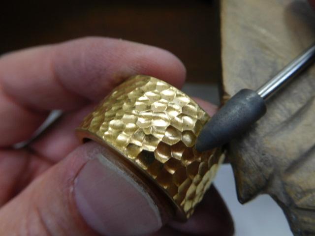 指輪 純金