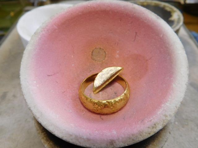形見 指輪 リメイク