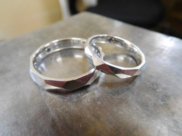 結婚指輪 星空