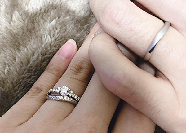結婚指輪 妊娠中のサイズ選び