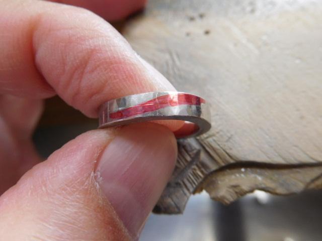 ウェーブ 指輪 作り方